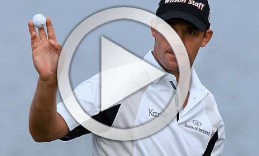 Padraig Harrington golf swing