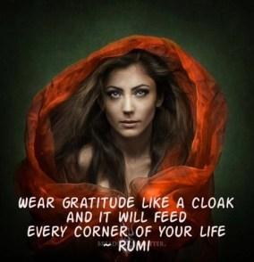 gratitude cloak