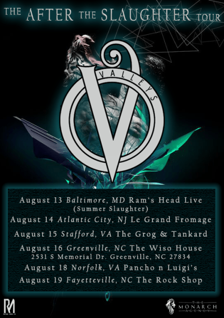 Valleys summer tour flyer  1