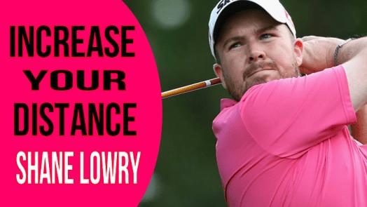 Shane Lowry golf swing