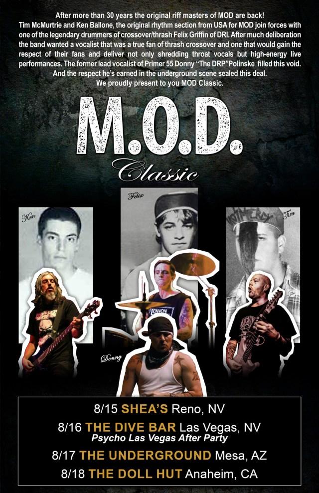 MOD Classic - 2019 Tour Poster 1
