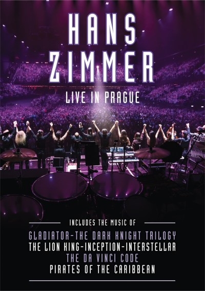 Hans Zimmer Live In Prague DVD cover hr