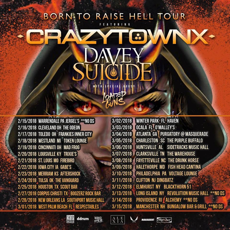 Born To Raise Hell Tour