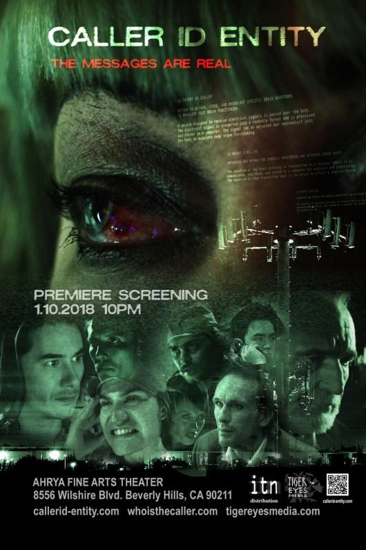 CALLER ID ENTITY Poster PremiereScreening