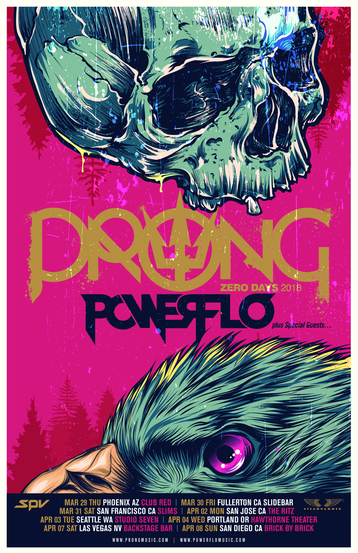 Prong Powerflo WestCoast 2018 Poster-page-0
