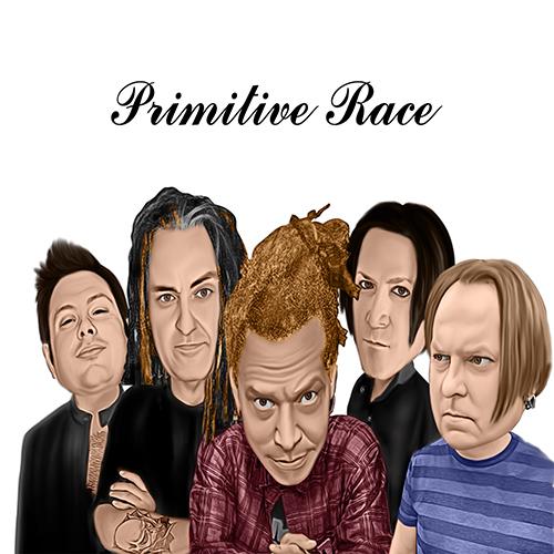 Primitive Race Cartoon