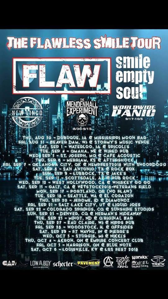 Flaw tour