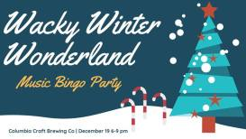 Wacky Winter Wonderland Bingo Party