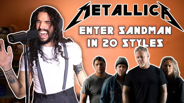 Enter Sandman in 20 Styles Thumbnail