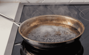 Cleaning A Burned Pot