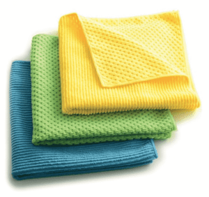 HOW TO CARE FOR MICROFIBER CLEANING CLOTHS