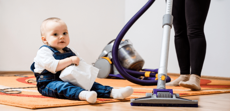 How To Clean Differently When You Have Babies And Toddlers Around