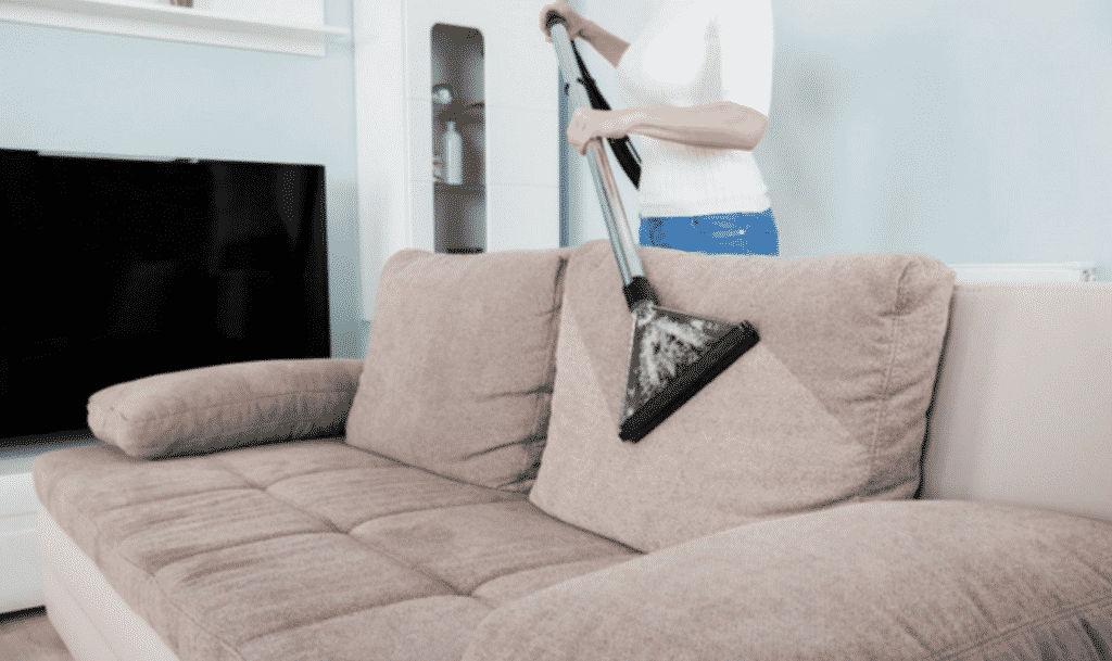 How To Safely Clean A Fabric Sofa