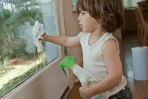 Spring Cleaning With Children