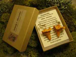 Chanterelle Earrings