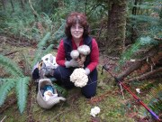"Anna Moore ""Mushrooms of the Oregon Dunes"" Speaker for February 2014"
