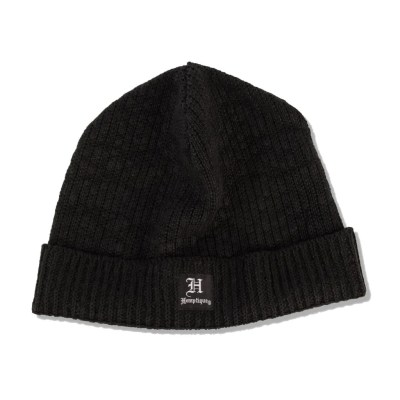 Hemptique hemp beanie short black