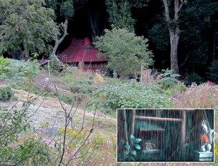 Yamanokami Shrine was inspired a scene in Totoro