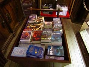 The Harry Potter bin at Livraria Lello & Irmão.
