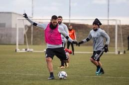 Clint Dempsey takes a shot. ( Sounders FC)