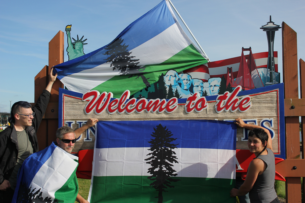 cascadia movement flag