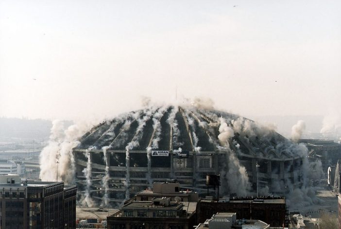 seattle kingdome implosion cascadia