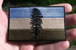 Muted Cascadia Doug Patch