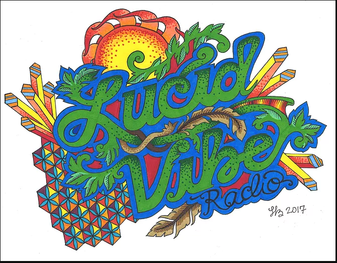 Lucid Vibe Radio Logo