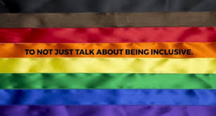 Inclusive PRIDE Flag - Seattle Pride Parade Cascadian Contingent