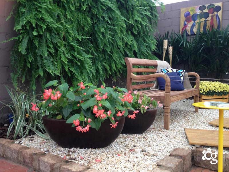 Decoração e Paisagismo - Cascalheira Garden - Jardinagem e Paisagismo Camaçari