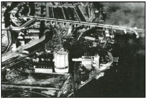 Portland Gas Works circa 1930