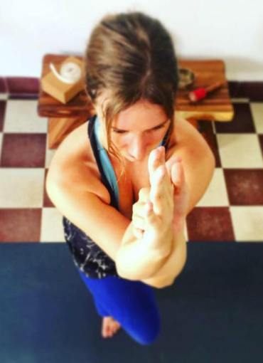 Desiree teacher of Yin Yoga at Casco Yoga Panama every Thursday