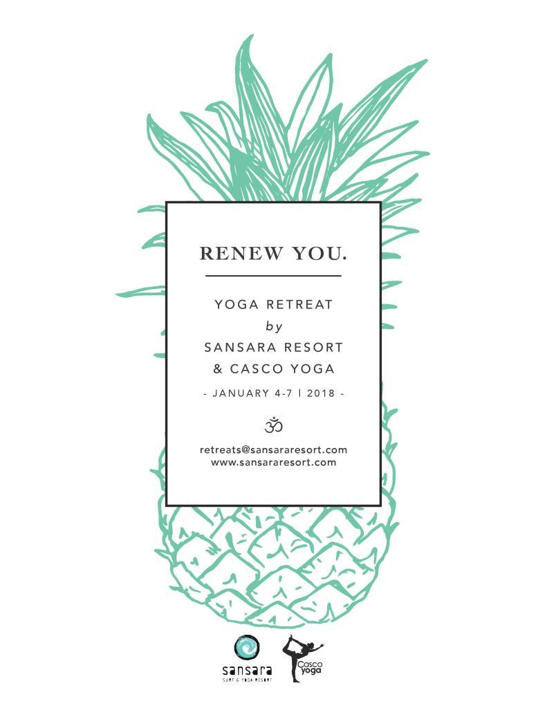 retreat yoga. casco yoga panama. sansara resort. january 2018. city escape. panama. cambutal. maya pypker