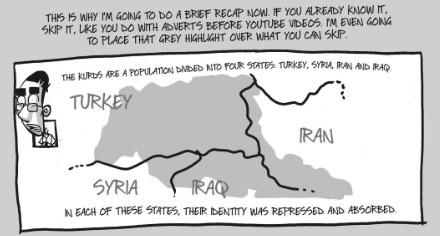 Map from Kobane Calling