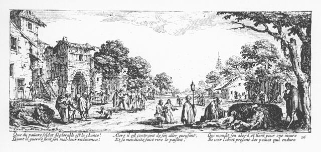 Plate 16, The Beggars and the Dying
