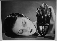 Noire et blanche by Man Ray