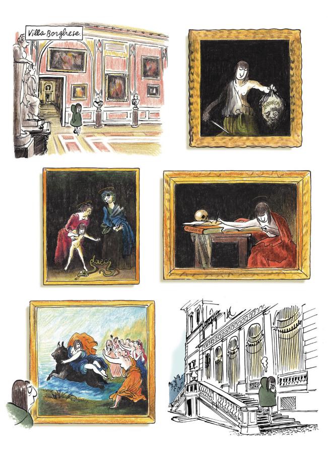 Page from La Légèreté