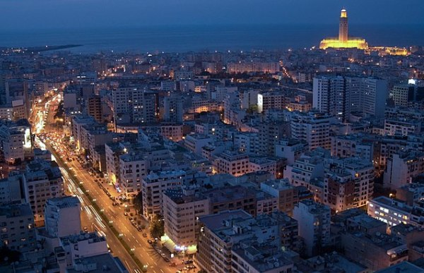 Casablanca at Night