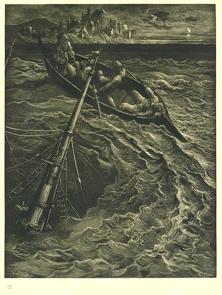 Rime of the Ancient Mariner, The vortex