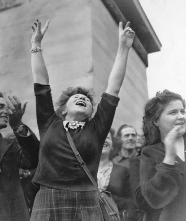 A Parisian Woman Celebrates