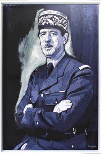 Portrait of General de Gaulle