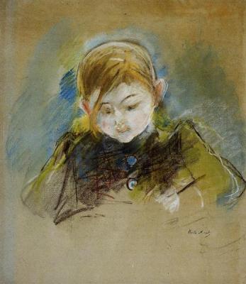 Julie Writing, Morisot