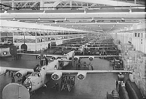 Willow Run, B-24E Assembly