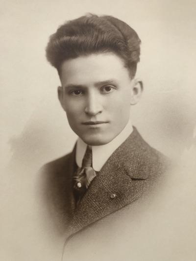 Rupert Neubrecht, circa 1915