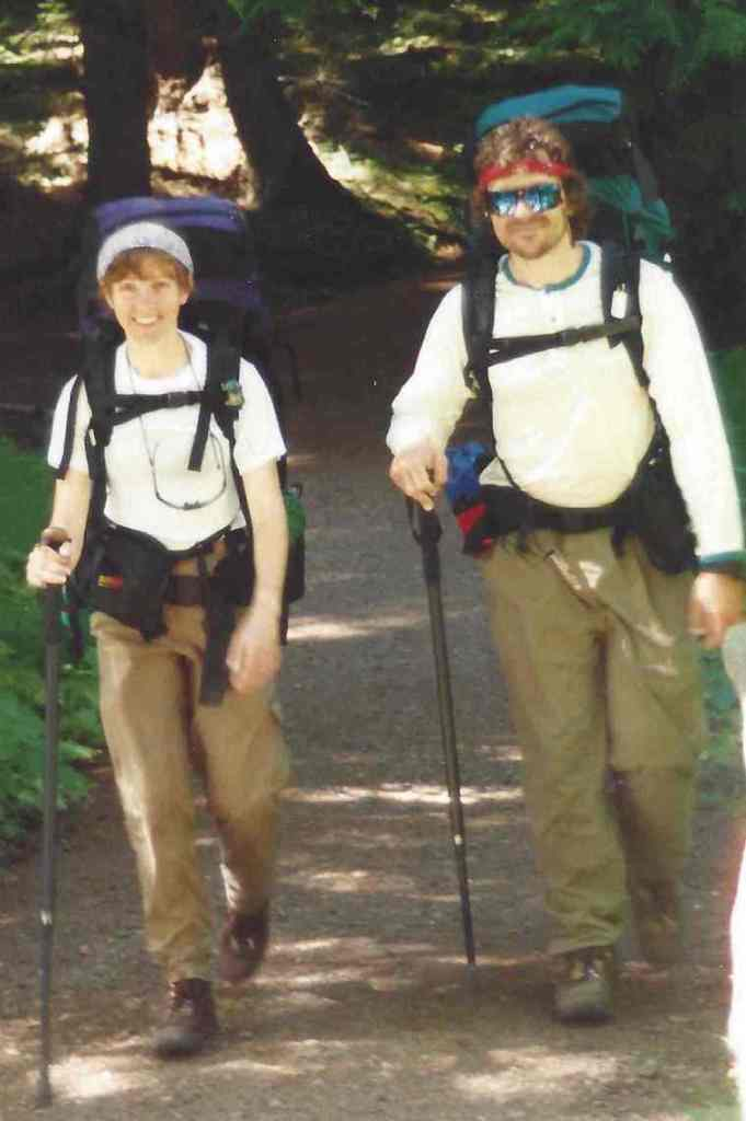 Carol and Andy, Longmire 1995