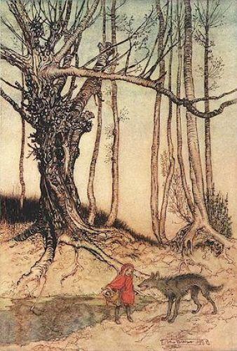 Little Red Riding Hood, Rackham