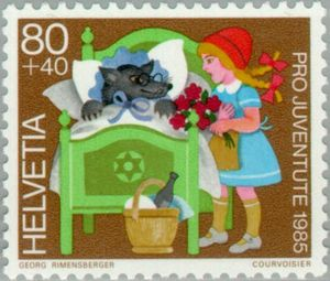LRRH Swiss stamp