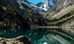 Lake in the Pyrenees