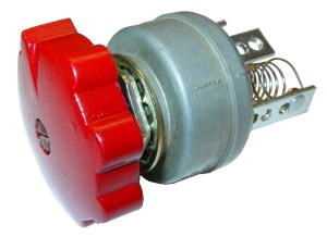 12 VOLT ROTARY LIGHT SWITCH 4POSITION  Case IH Parts
