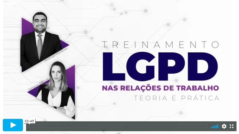 Treinamento LGPD
